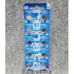 Батарейка часовая Renata 399, , 0.70$, 11399, Renata, Батарейки таблетки RENATA