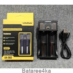 Зарядное устройство LiitoKala lii 202, , 6.50$, 22231, LiitoKala, Зарядки для 18650,16340,14500