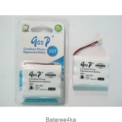 Аккумулятор для радиотелефона GooP 501 1800mah