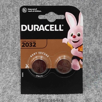 Батарейки Duracell 2032