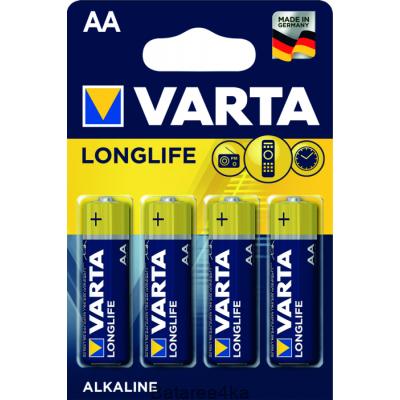 Батарейки VARTA LONGLIFE AA