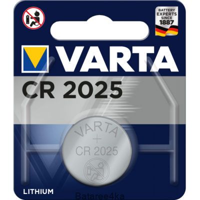 Батарейки VARTA 2025