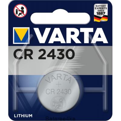 Батарейки VARTA CR 2430